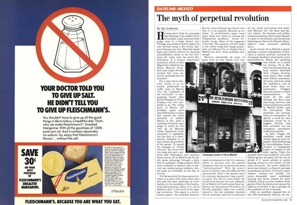 Article Preview: The myth of perpetual revolution, March 1982 | Maclean's