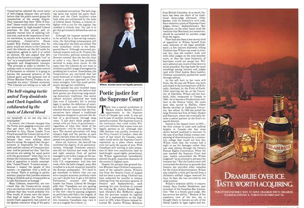 Article Preview: Poetic justice for the Supreme Court, March 1982 | Maclean's