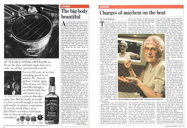Article Preview: Charges of mayhem on the beat, March 1982 | Maclean's