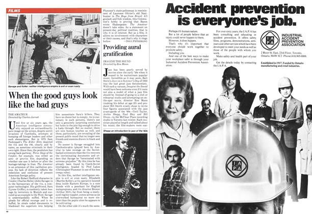 Article Preview: When the good guys look like the bad guys, March 1982 | Maclean's