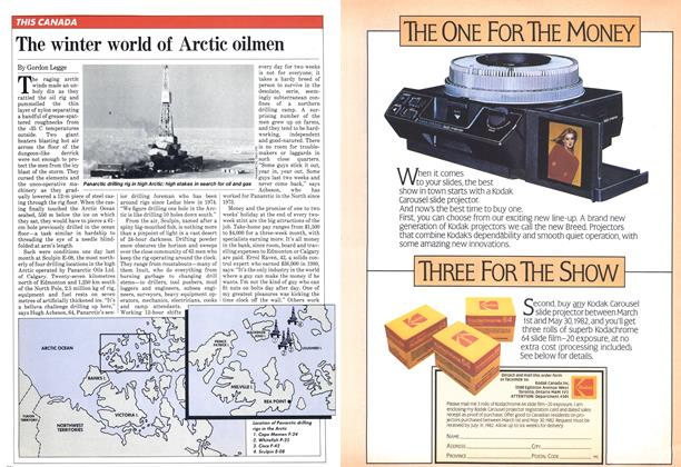 Article Preview: The winter world of Arctic oilmen, March 1982 | Maclean's