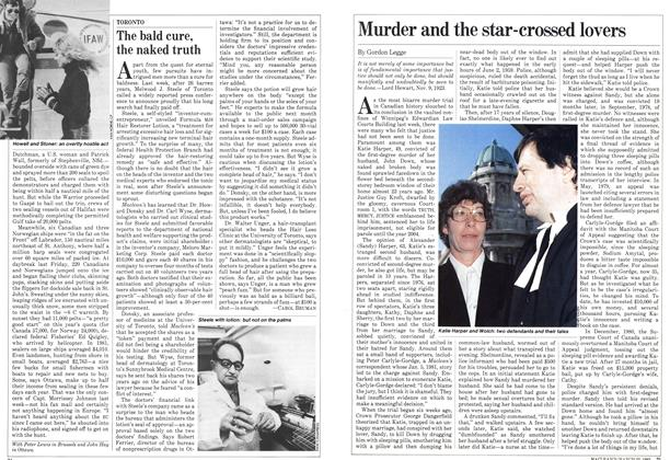 Article Preview: Murder and the star-crossed lovers, March 1982 | Maclean's