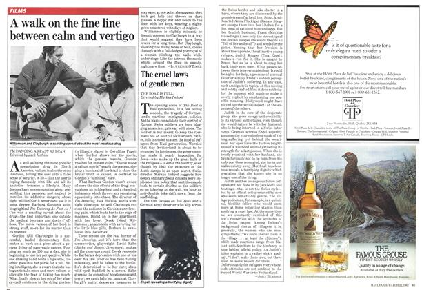 Article Preview: The cruel laws of gentle men, March 1982 | Maclean's