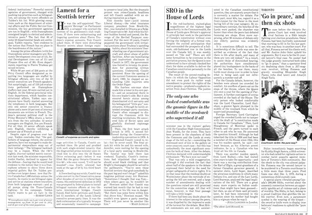 Article Preview: Lament for a Scottish terrier, March 1982 | Maclean's