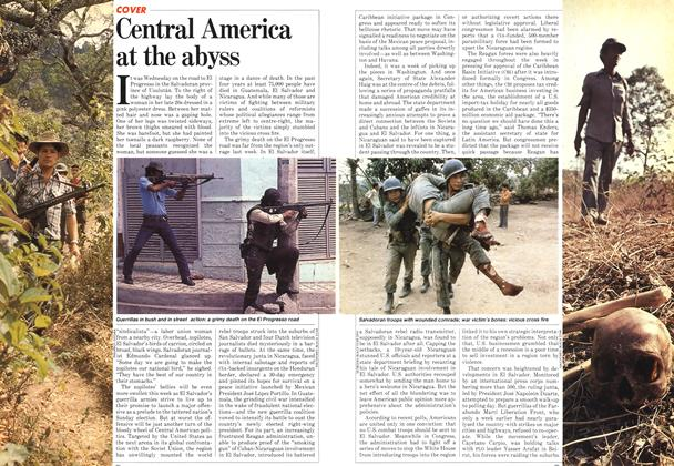 Article Preview: Central America at the abyss, March 1982 | Maclean's