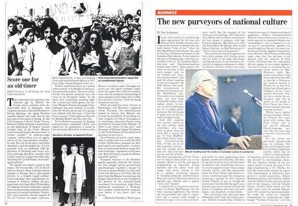 Article Preview: The new purveyors of national culture, March 1982 | Maclean's