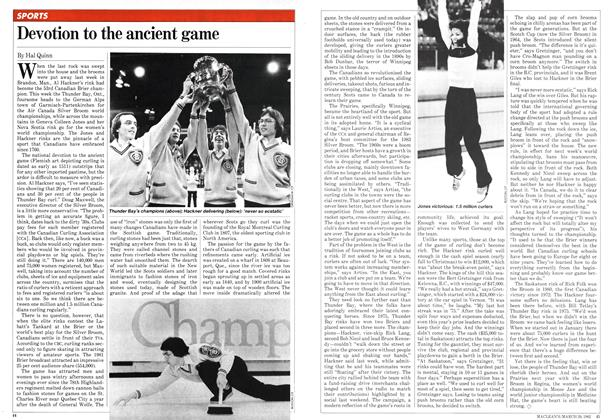 Article Preview: Devotion to the ancient game, March 1982 | Maclean's
