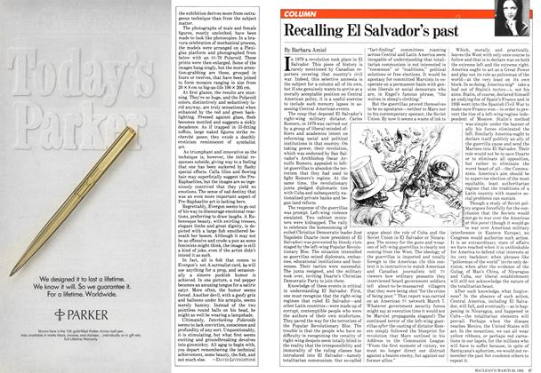 Article Preview: Recalling El Salvador's past, March 1982 | Maclean's
