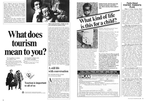 Article Preview: A still life with conversation, March 1982 | Maclean's