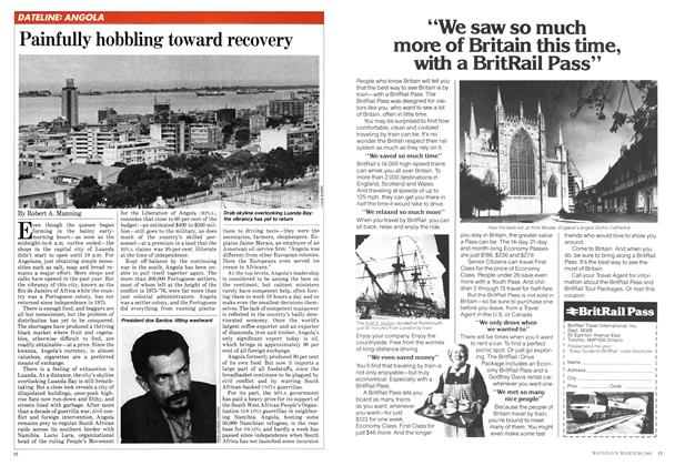 Article Preview: Painfully hobbling toward recovery, March 1982 | Maclean's