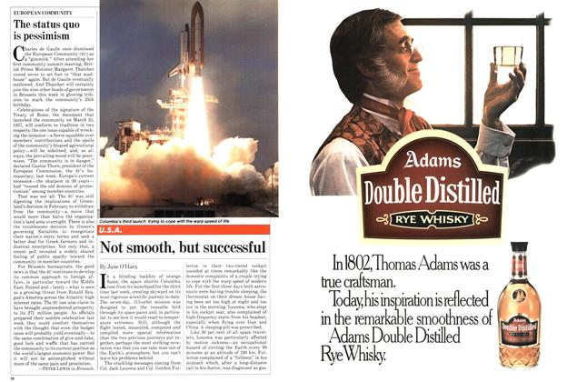 Article Preview: Not smooth, but successful, April 1982 | Maclean's