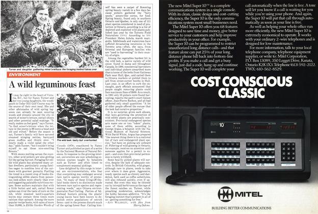 Article Preview: A wild leguminous feast, April 1982 | Maclean's