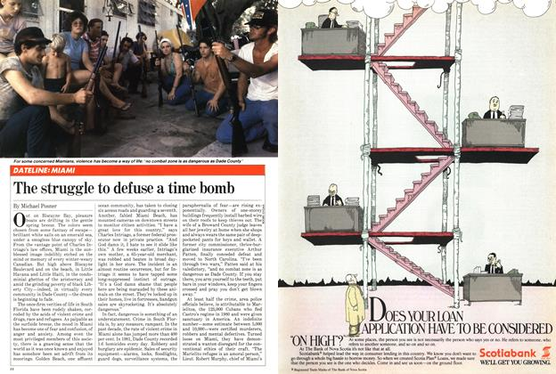 Article Preview: The struggle to defuse a time bomb, April 1982 | Maclean's
