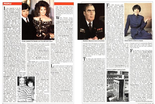 Article Preview: PEOPLE, April 1982 | Maclean's