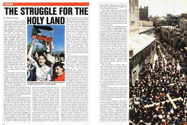 Article Preview: THE STRUGGLE FOR THE HOLY LAND, April 1982 | Maclean's