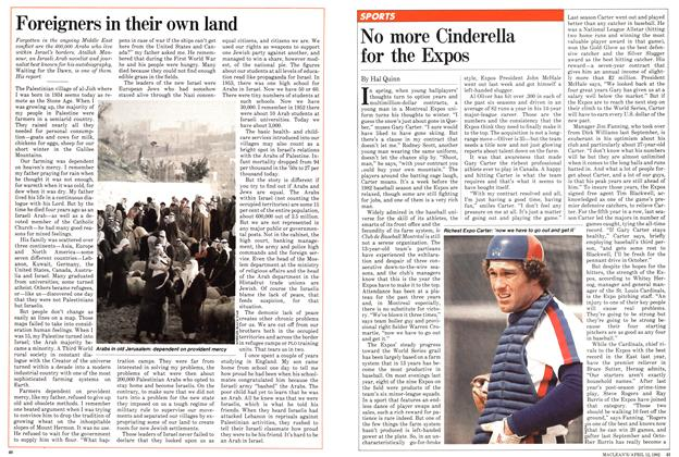 Article Preview: No more Cinderella for the Expos, April 1982 | Maclean's