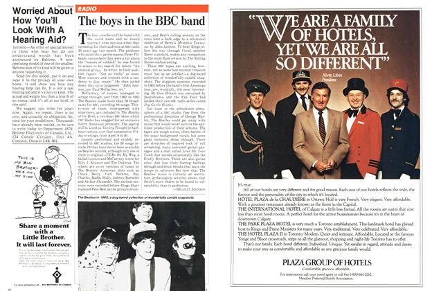 Article Preview: The boys in the BBC band, April 1982 | Maclean's