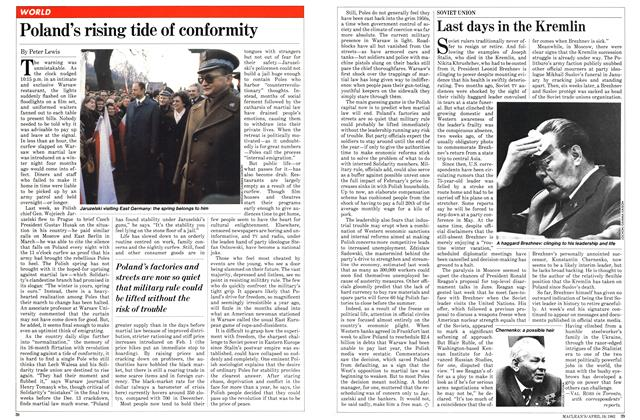 Article Preview: Last days in the Kremlin, April 1982 | Maclean's