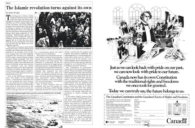 Article Preview: The Islamic revolution turns against its own, April 1982 | Maclean's