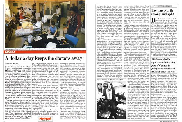 Article Preview: A dollar a day keeps the doctors away, April 1982 | Maclean's