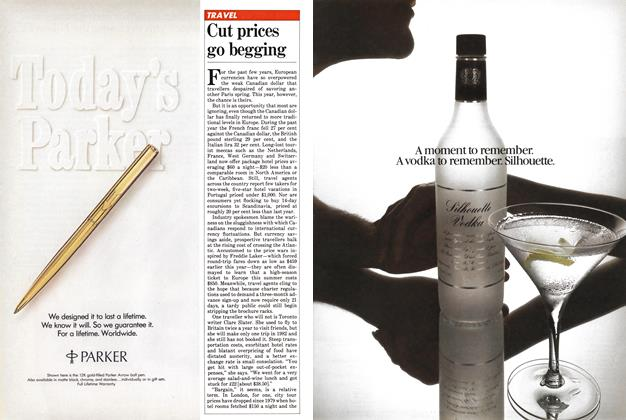 Article Preview: Cut prices go begging, April 1982 | Maclean's