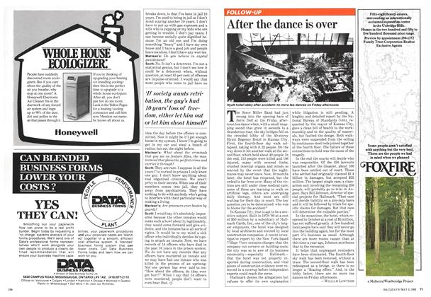 Article Preview: After the dance is over, May 1982 | Maclean's