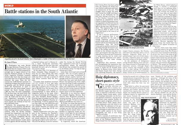 Article Preview: Battle stations in the South Atlantic, May 1982 | Maclean's