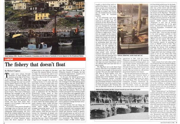 Article Preview: The fishery that doesn't float, May 1982 | Maclean's