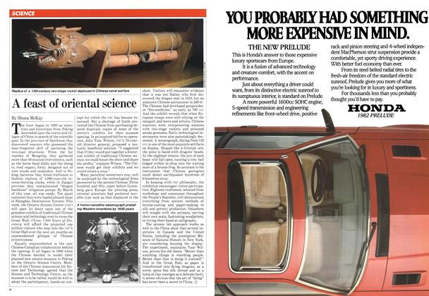 Article Preview: A feast of oriental science, May 1982 | Maclean's