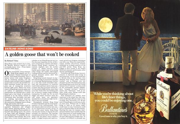 Article Preview: A golden goose that won't be cooked, May 1982 | Maclean's