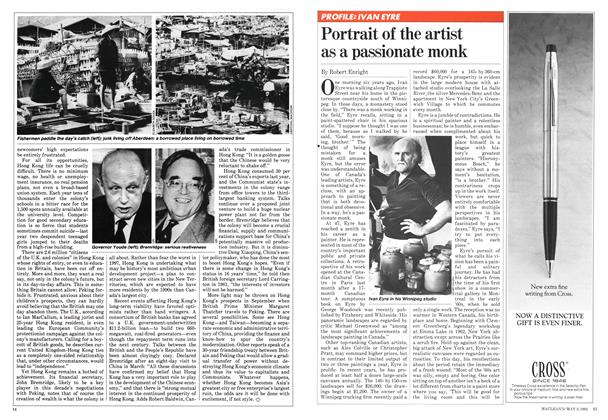 Article Preview: Portrait of the artist as a passionate monk, May 1982 | Maclean's