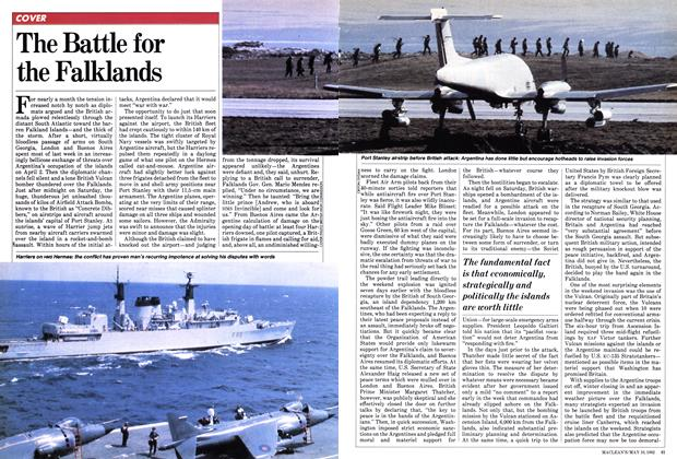 Article Preview: The Battle for the Falklands, May 1982 | Maclean's