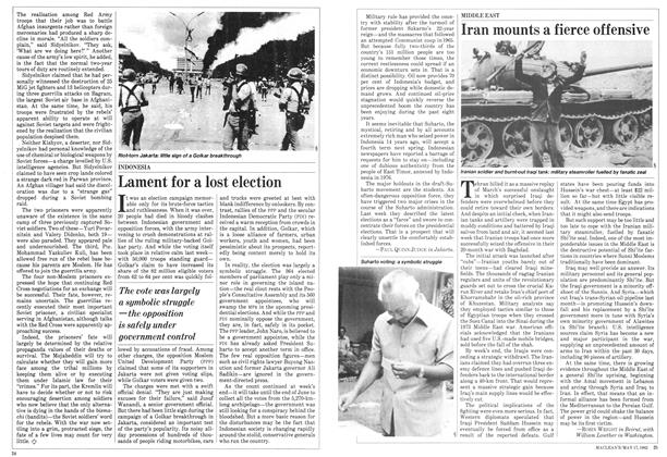 Article Preview: Iran mounts a fierce offensive, May 1982   Maclean's