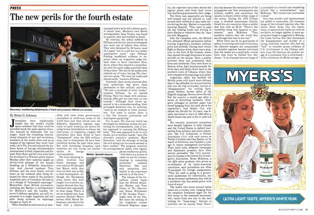Article Preview: The new perils for the fourth estate, May 1982 | Maclean's