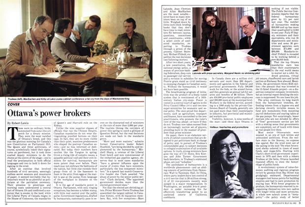 Article Preview: Ottawa's power brokers, May 1982 | Maclean's