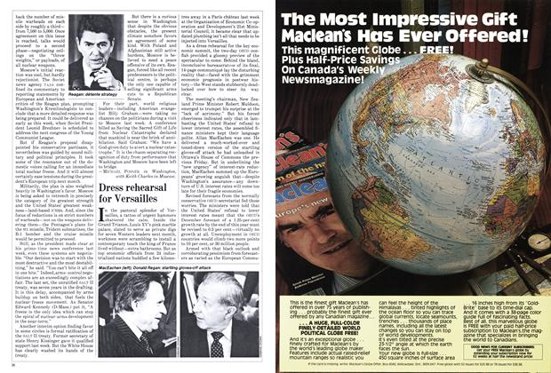 Article Preview: Dress rehearsal for Versailles, May 1982 | Maclean's
