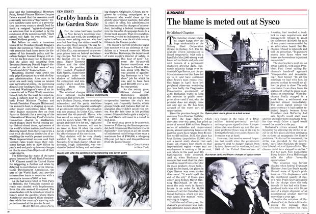 Article Preview: Grubby hands in the Garden State, May 1982 | Maclean's