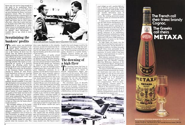 Article Preview: The downing of a high flyer, May 1982 | Maclean's