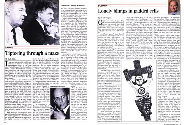 Article Preview: Lonely blimps in padded cells, May 1982 | Maclean's