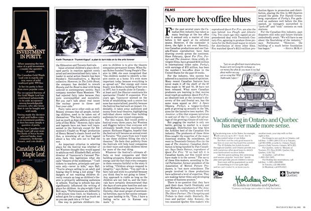 Article Preview: No more box-office blues, May 1982 | Maclean's