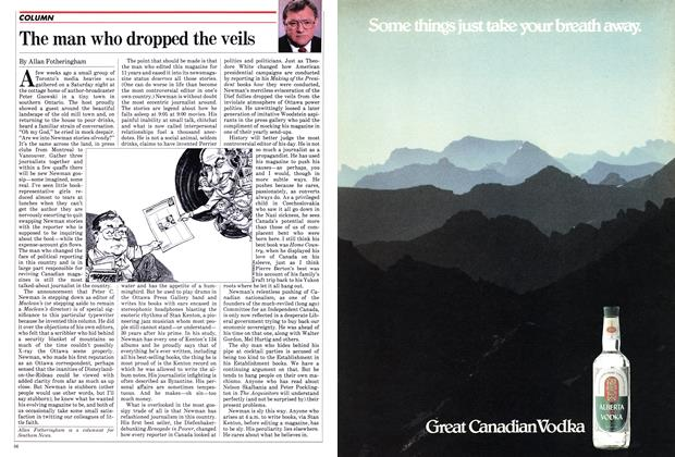 Article Preview: The man who dropped the veils, May 1982 | Maclean's