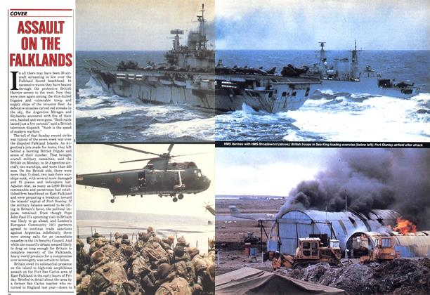 Article Preview: ASSAULT ON THE FALKLAND, May 1982 | Maclean's