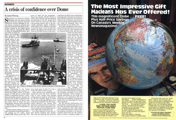 Article Preview: A crisis of confidence over Dome, May 1982 | Maclean's