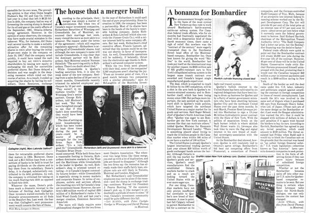 Article Preview: A bonanza for Bombardier, May 1982 | Maclean's