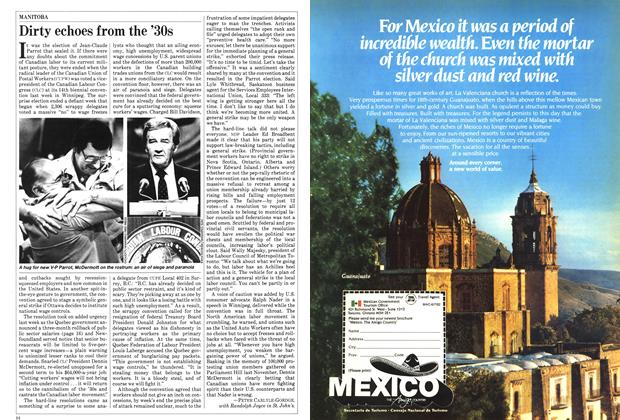 Article Preview: Dirty echoes from the '30s, June 1982 | Maclean's