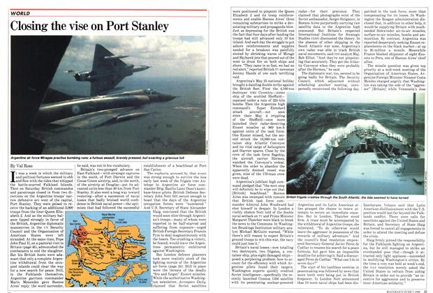 Article Preview: Closing the vise on Port Stanley, June 1982 | Maclean's