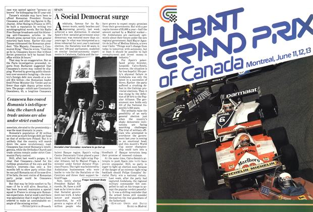 Article Preview: A Social Democrat surge, June 1982 | Maclean's