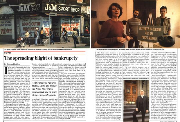 Article Preview: The spreading blight of bankrupcty, June 1982 | Maclean's