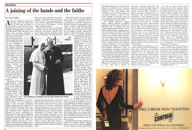 Article Preview: A joining of the hands and the faiths, June 1982 | Maclean's