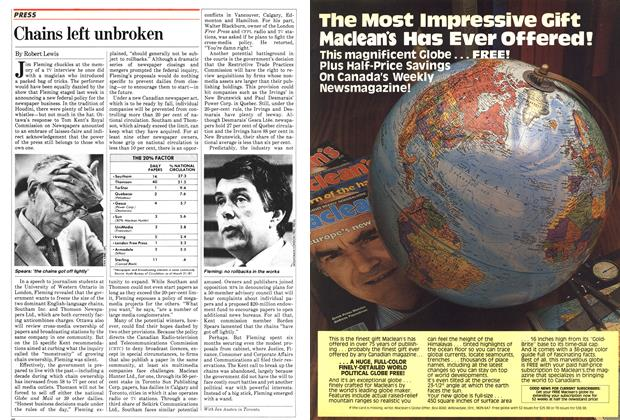 Article Preview: Chains left unbroken, June 1982 | Maclean's